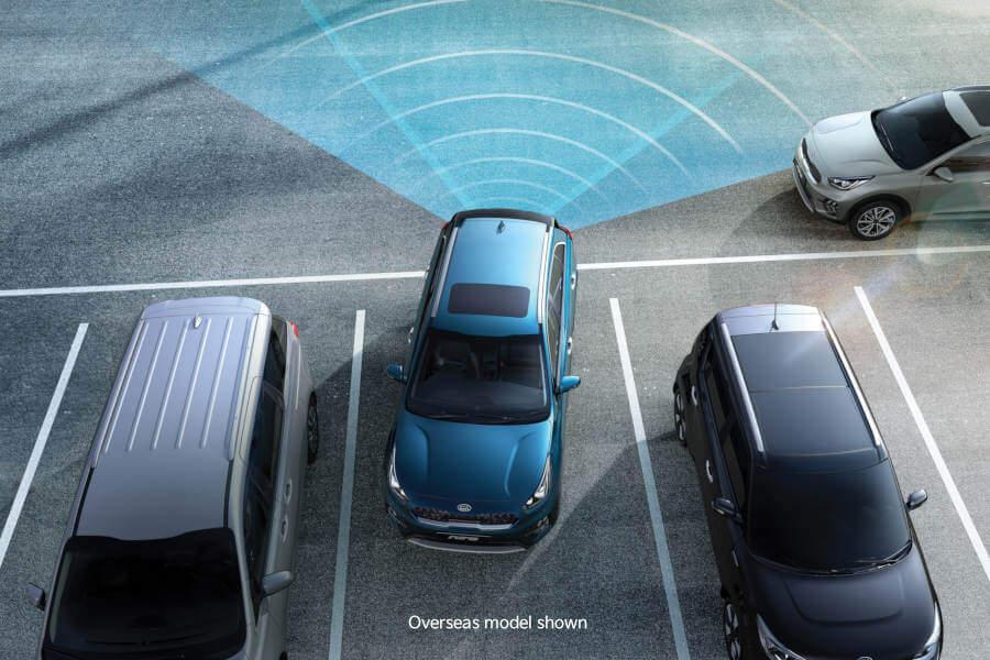 Niro Plug-in Hybrid Rear Cross Traffic Alert