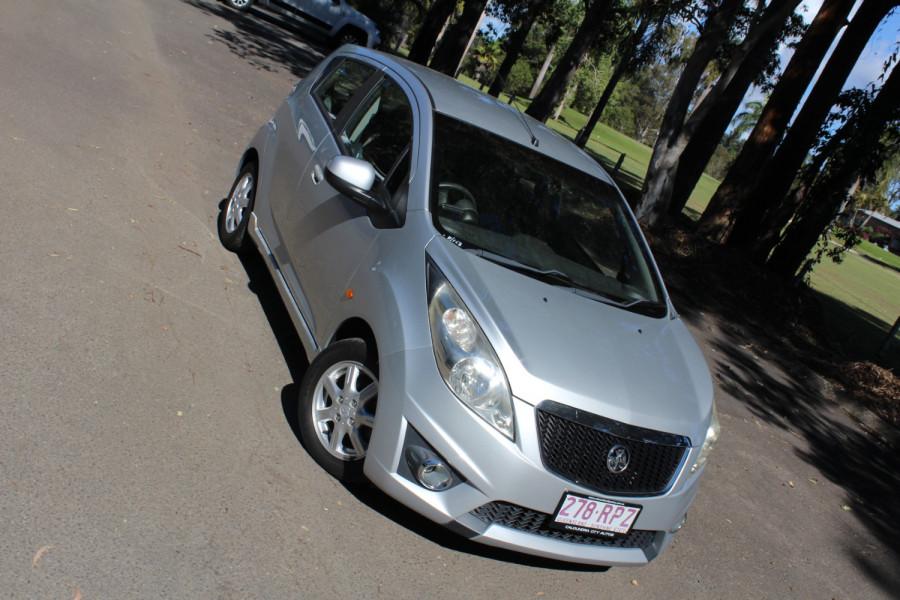2011 Holden Barina Spark MJ  CD Hatchback