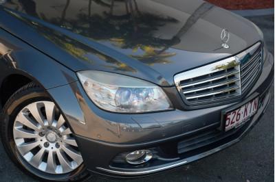 2007 Mercedes-Benz C-class W204 C200 Kompressor Elegance Sedan Image 3