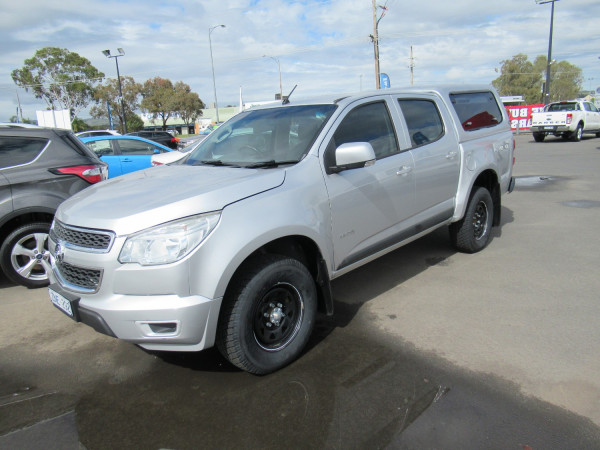 2012 MY13 Holden Colorado RG MY13 LX Utility