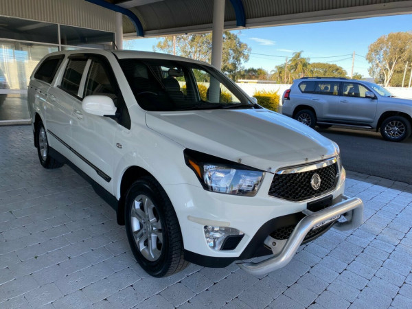2012 SsangYong Actyon Sports Q150  SPR SPR Ute Image 4
