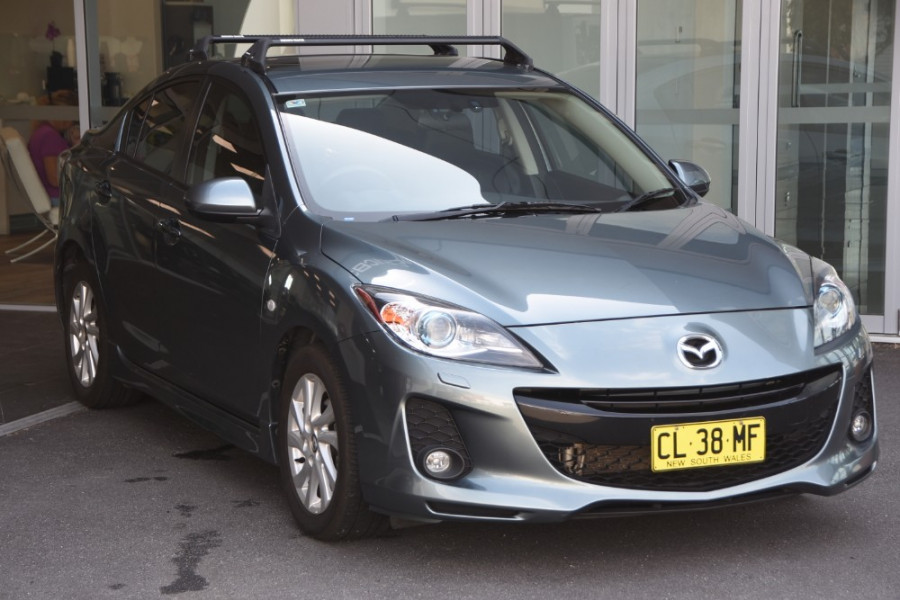 2013 Mazda 3 BL1072 MY13 SP20 Sedan