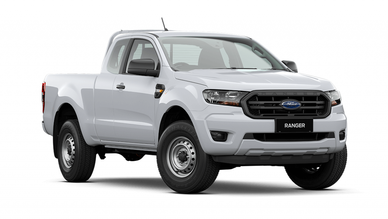 2020 MY21.25 Ford Ranger PX MkIII XL Super Cab Cab chassis Image 1