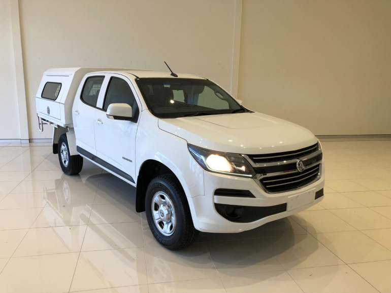 2016 Holden Colorado RG Turbo LS 2wd c/c chassis Image 1
