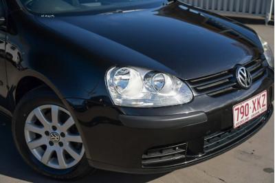 2007 Volkswagen Golf V MY08 Comfortline Hatchback Image 3