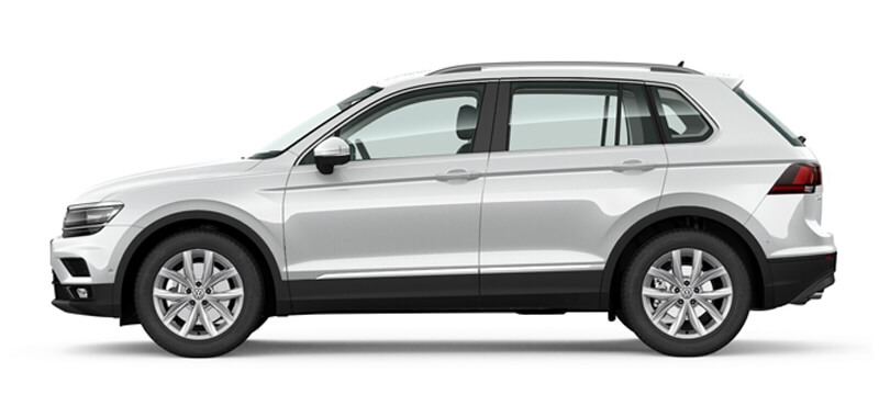 Tiguan 132TSI Comfortline 7 Speed DSG 4MOTION