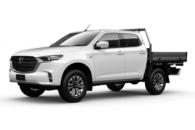 2020 MY21 Mazda BT-50 TF XT 4x2 Dual Cab Chassis Cab chassis