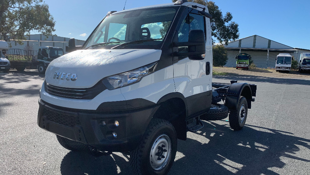 2019 Iveco Daily 55S17W Cab chassis