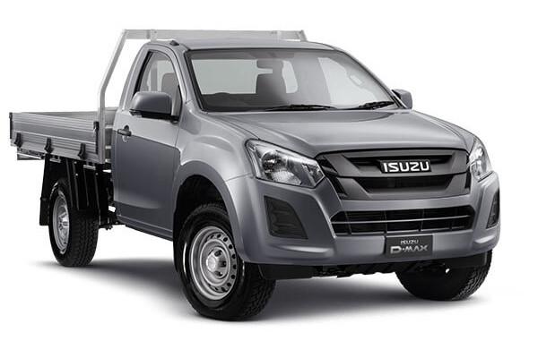 Isuzu UTE D-MAX SX Single Cab Chassis 4x4 IO