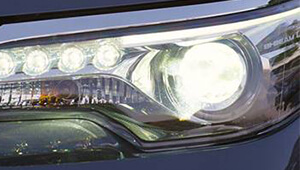 Fortuner Bi-LED headlamps
