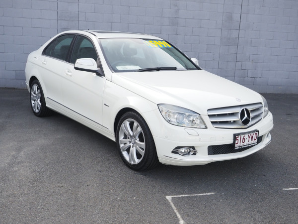 2008 Mercedes-Benz C-class W204 C200 Kompressor Sedan