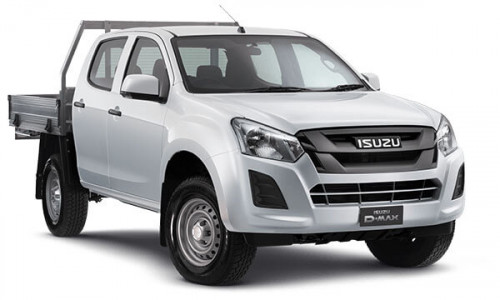 2019 Isuzu UTE D-MAX SX Crew Cab Chassis 4x4 Double cab/chassis