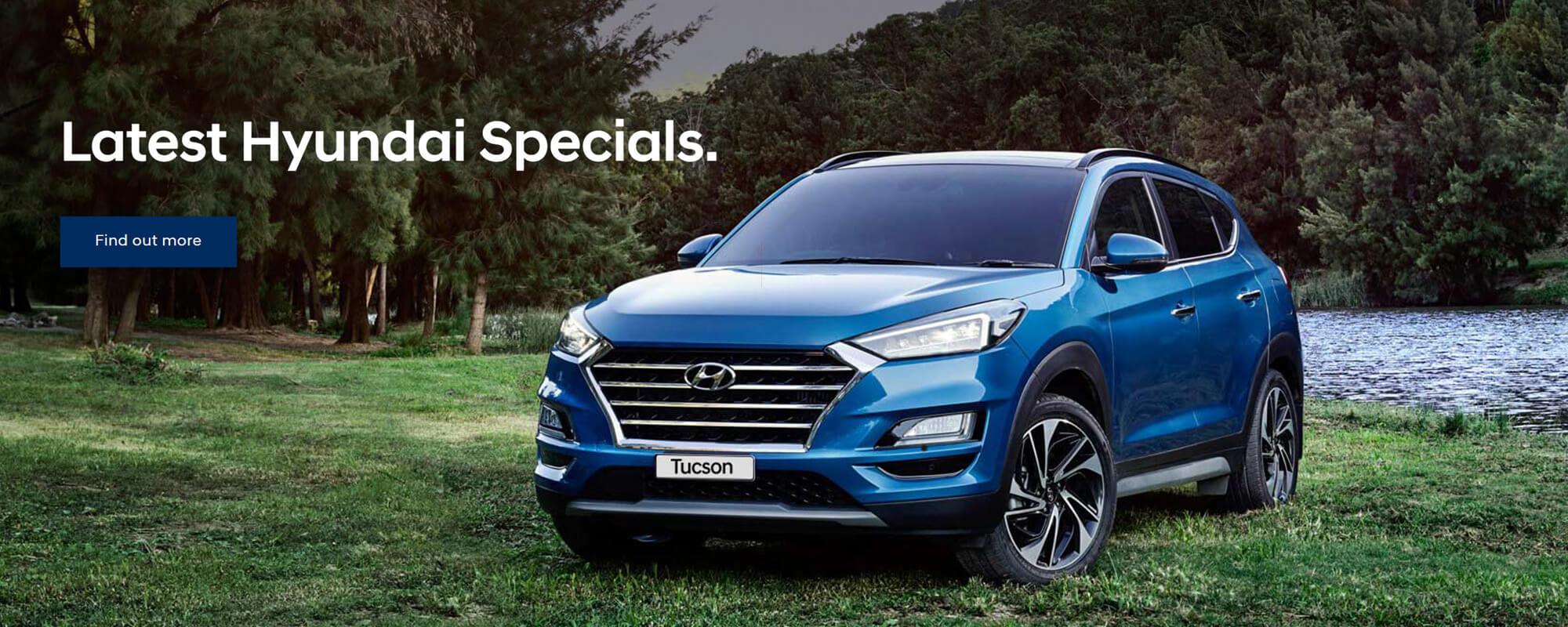 Latest Hyundai Specials