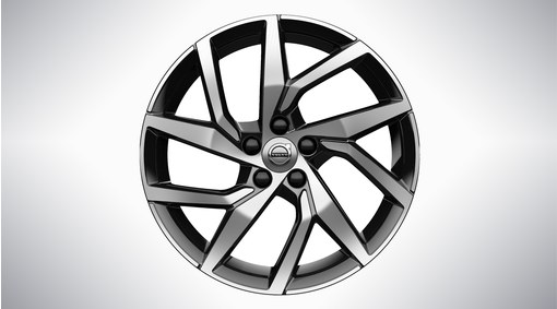 "18"" 5-Y Spoke Black Diamond Cut - 1037"