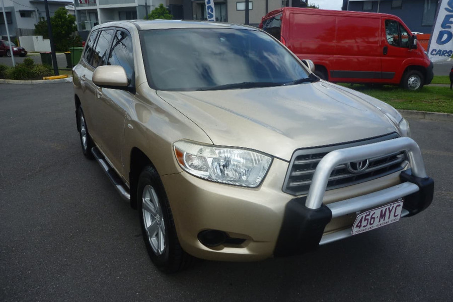 2009 Toyota Kluger GS WAG Wagon