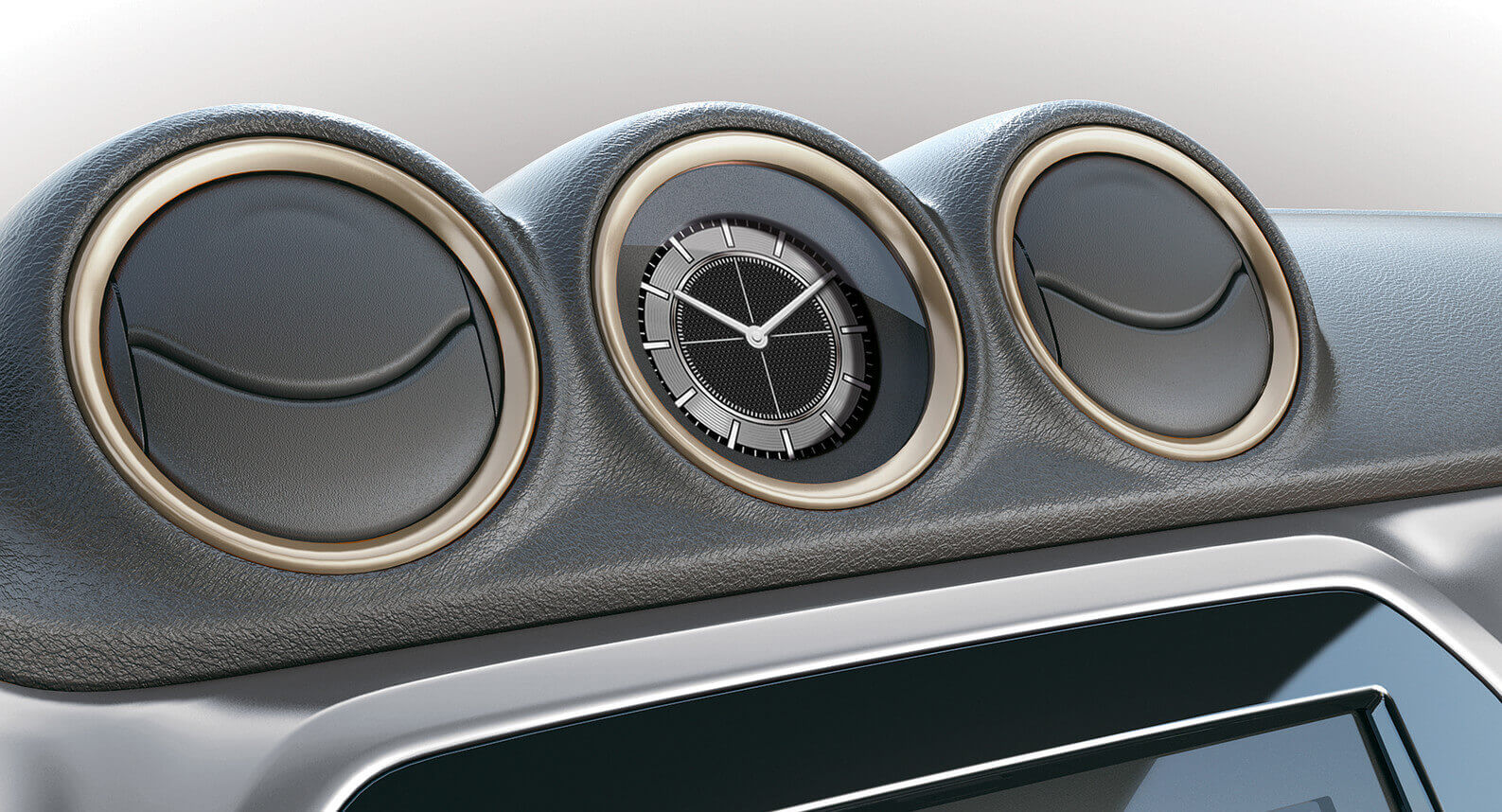 Vitara Air Conditioner Ring Set - Savanna Ivory