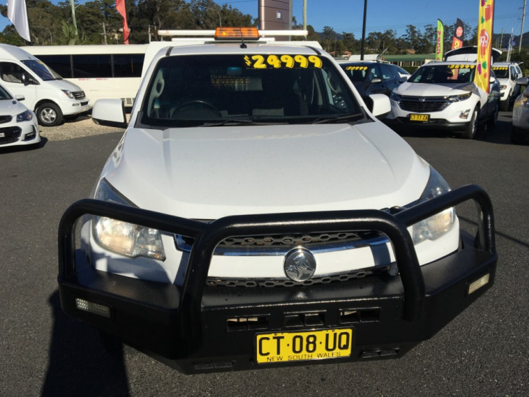 2015 Holden Colorado RG Turbo LS 4x4 s/c workbdy Image 2