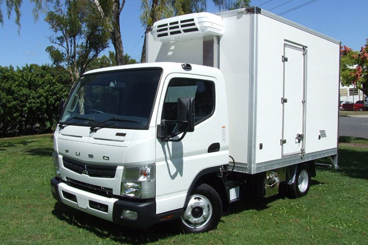 New Fuso 515 City Cab Auto 2 Pallet Refrigerated Truck
