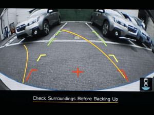 Rear View Reverse Camera Image