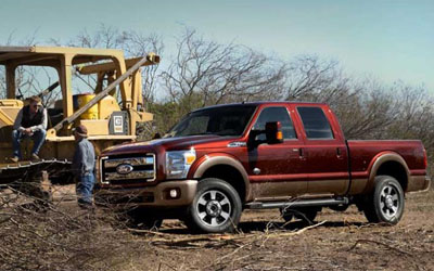 F-Truck 250 King Ranch Key Features