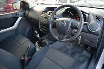 2015 Mazda BT-50 UR XT Cab chassis