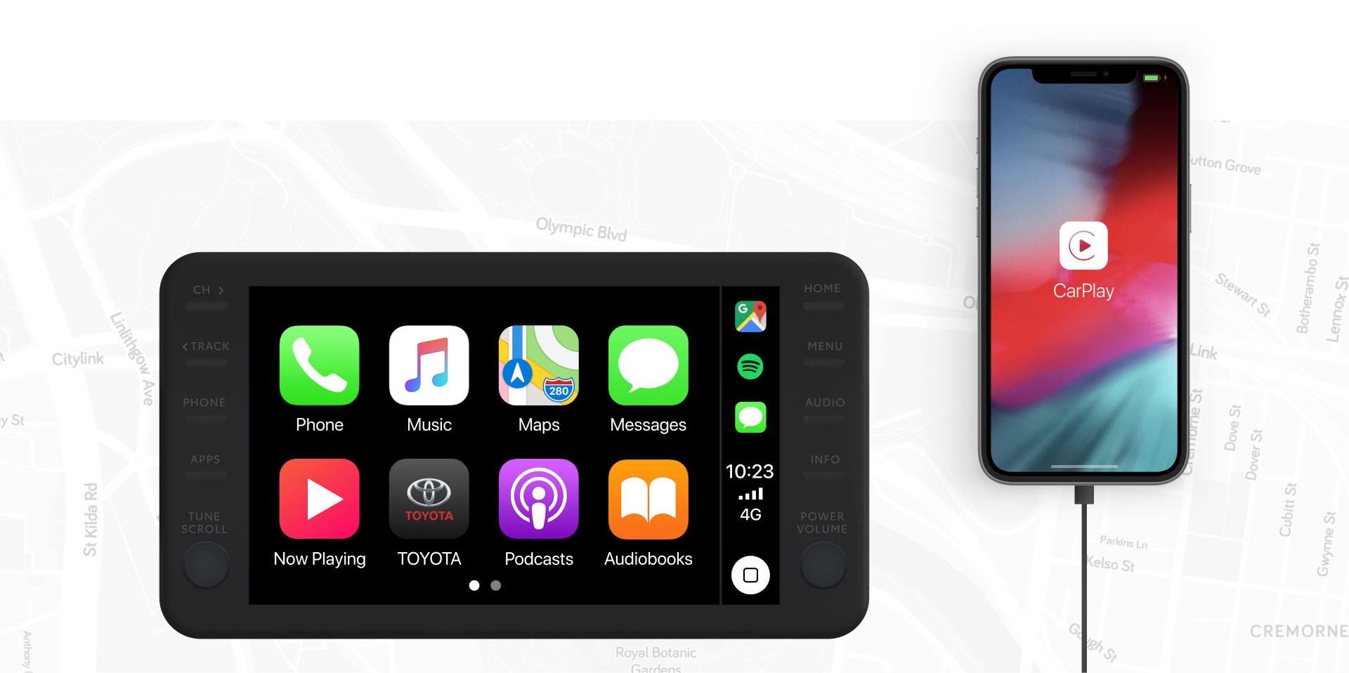 C-HR Apple CarPlay, Android Auto, and more.