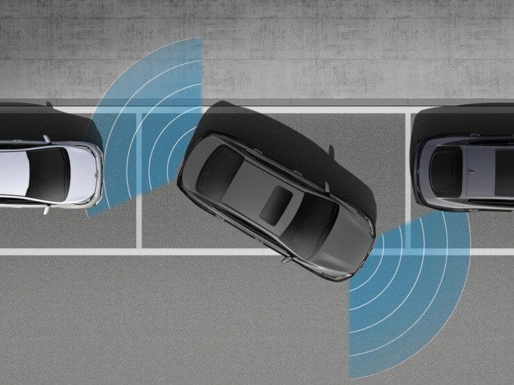 Parking Sensors and Rear View Camera