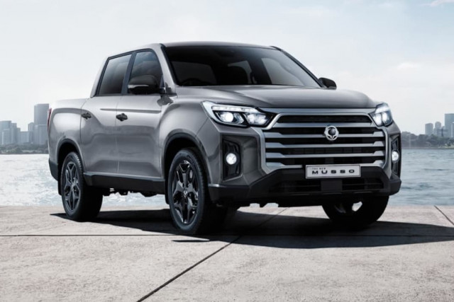 2021 SsangYong Musso Ultimate Luxury