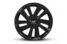 "<img src=""17"" Ansan satin black alloy wheel"