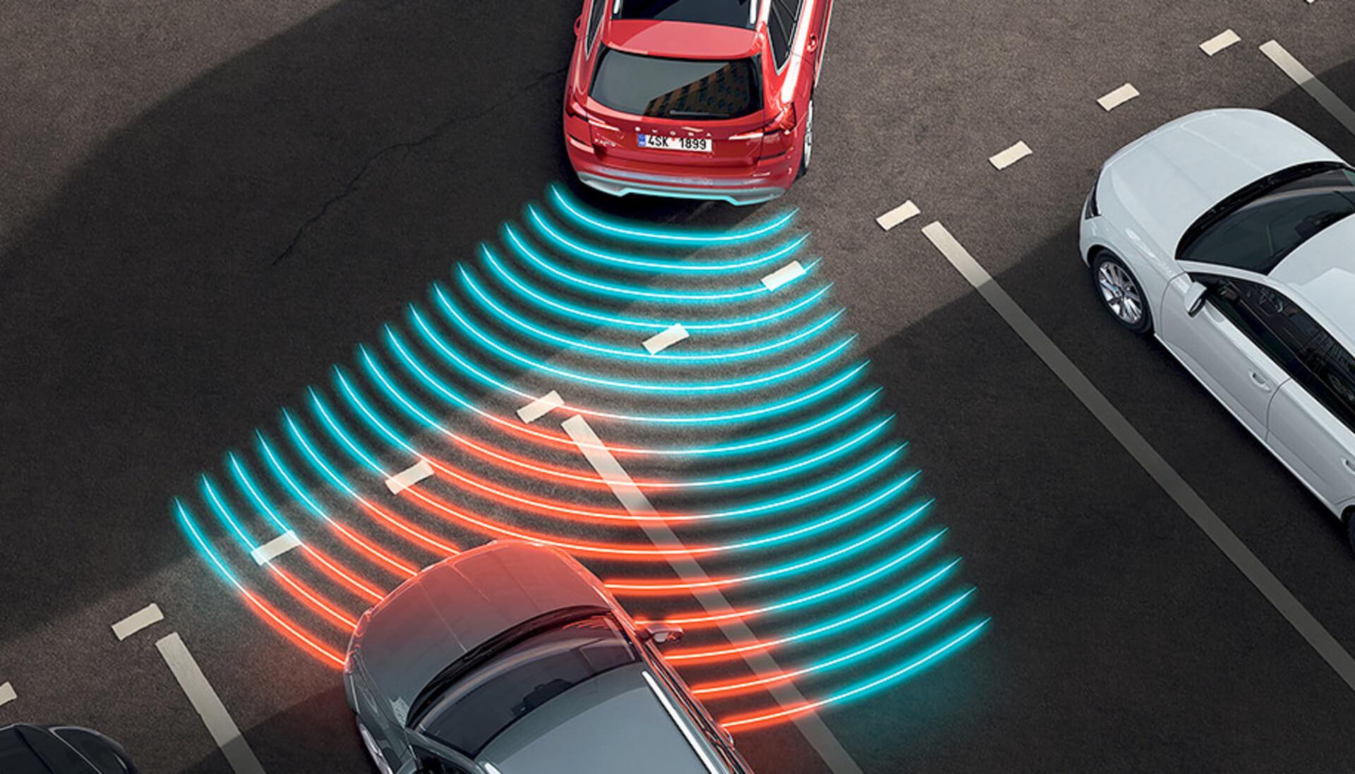 Kamiq Rear Parking Sensors