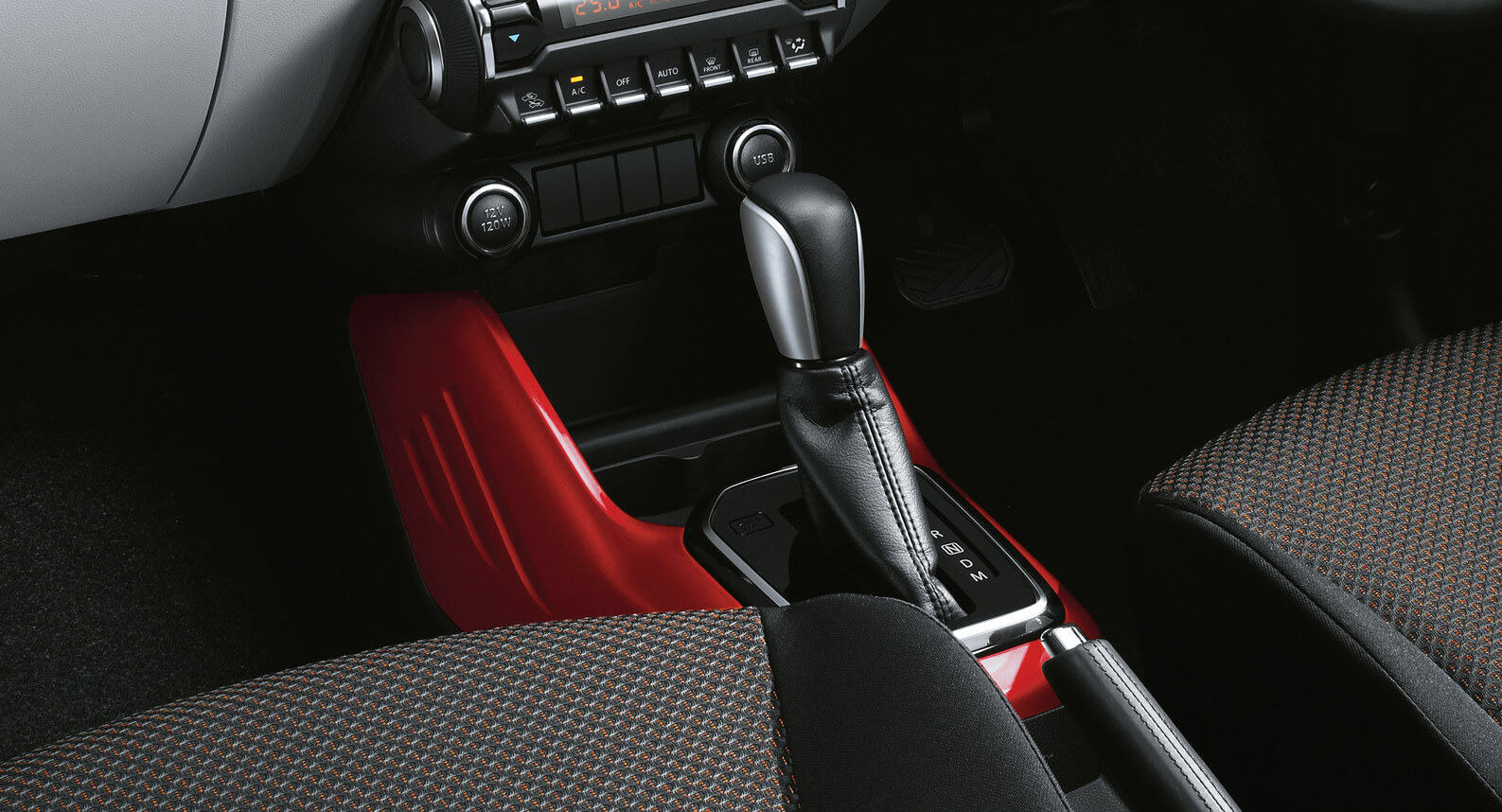 Ignis - Centre Console, Red