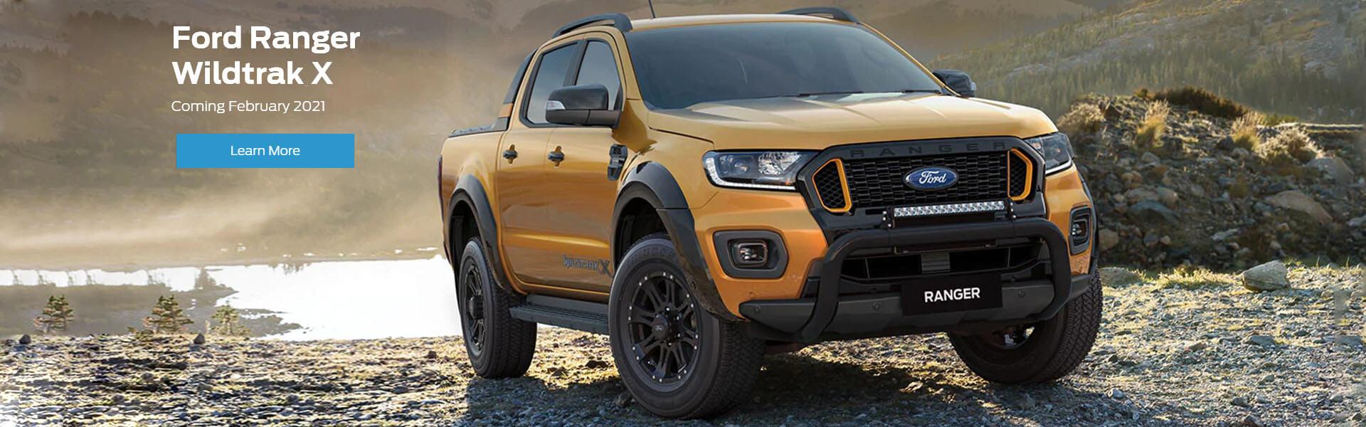 Ford Ranger Wildtrak X - Coming February 2021