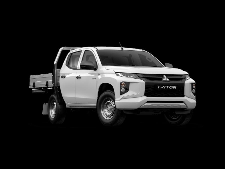 2021 Mitsubishi Triton MR GLX Double Cab Chassis 4WD Utility