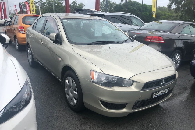 2007 Mitsubishi Lancer CJ MY08 ES Sedan