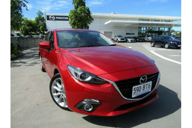 2014 Mazda 3 BM5236 SP25 SKYACTIV-MT GT Sedan