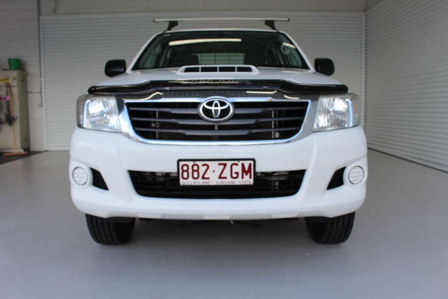 2013 MY12 Toyota HiLux KUN26R MY12 WORKMATE Cab chassis