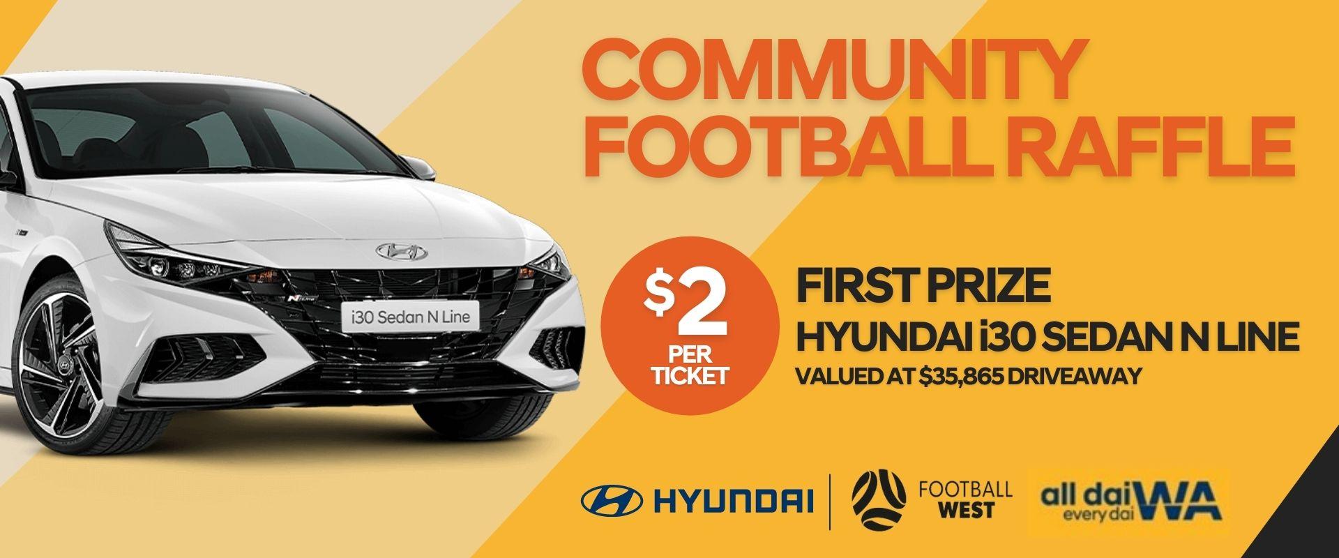 Community Football Raffle