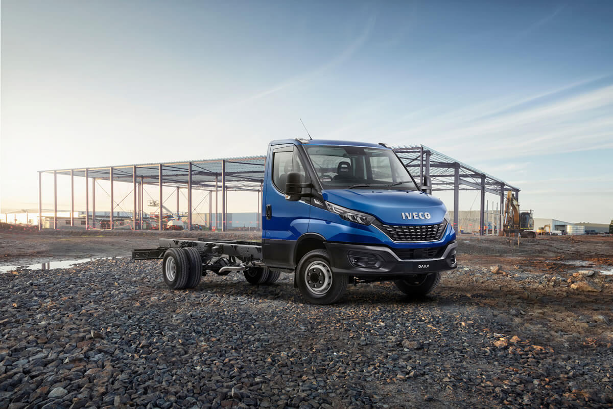 Daily E6 Cab Chassis OVERVIEW