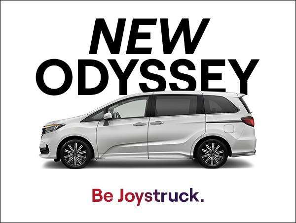 New Honda Odyssey has landed at Cricks Sunshine Coast Honda