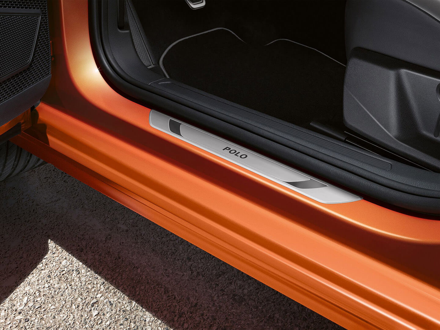 Door sill protection plate Sports and design Image