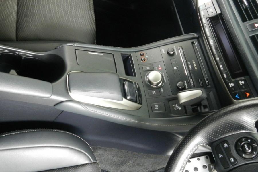 2015 Lexus Ct200h ZWA10R MY15 F Hatchback Mobile Image 13