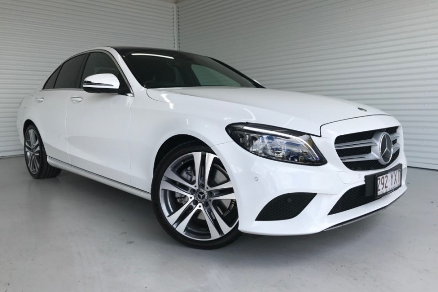 2018 Mercedes-Benz C-class W205 809MY C300 Sedan
