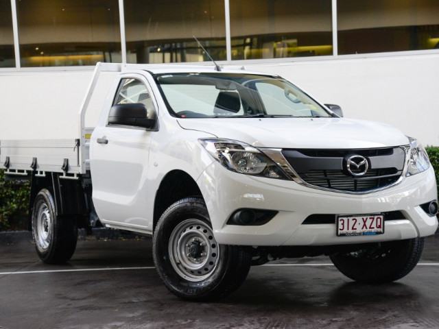 2018 MY17 Mazda BT-50 UR0YE1 4x2 2.2L Single Cab Chassis XT Cab chassis