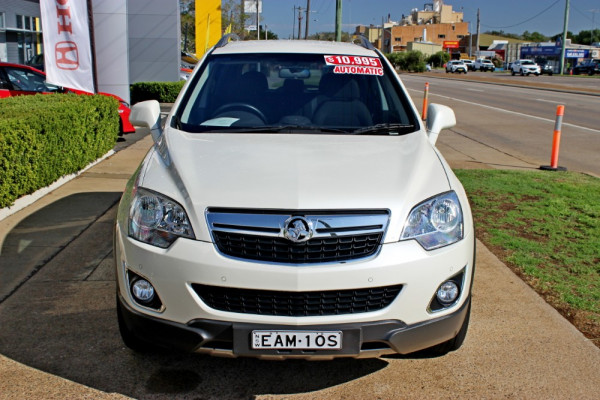 2012 Holden Captiva CG Series II  5 Suv Image 3