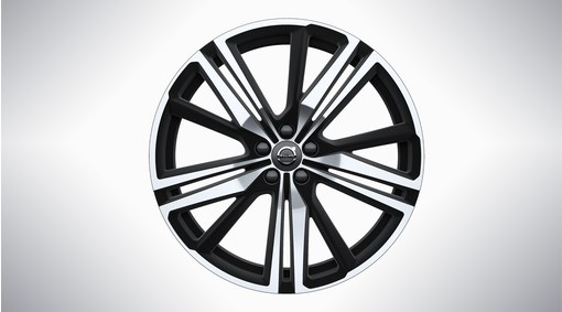 "21"" 5-Triple Spoke Matt Black Diamond Cut - 1013"