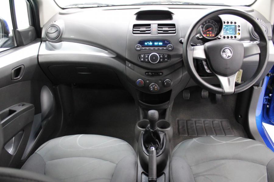 2011 Holden Barina Spark MJ  CD Hatchback Image 16