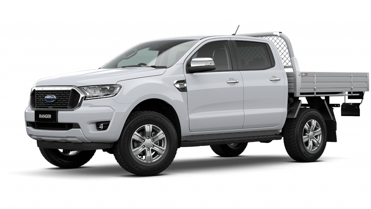 2020 MY21.25 Ford Ranger PX MkIII XLT Double Cab Chassis Utility Image 7
