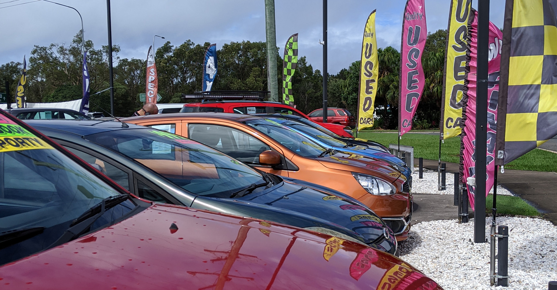 Get $500 to spend when you buy a used car in August!