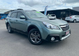 Subaru Outback 2.0D Lineartronic AWD B5A MY14