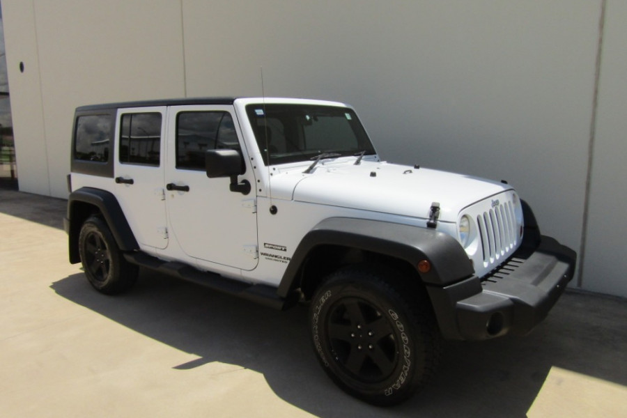 2011 MY10 Jeep Wrangler JK MY2010 UNLIMITED Softtop